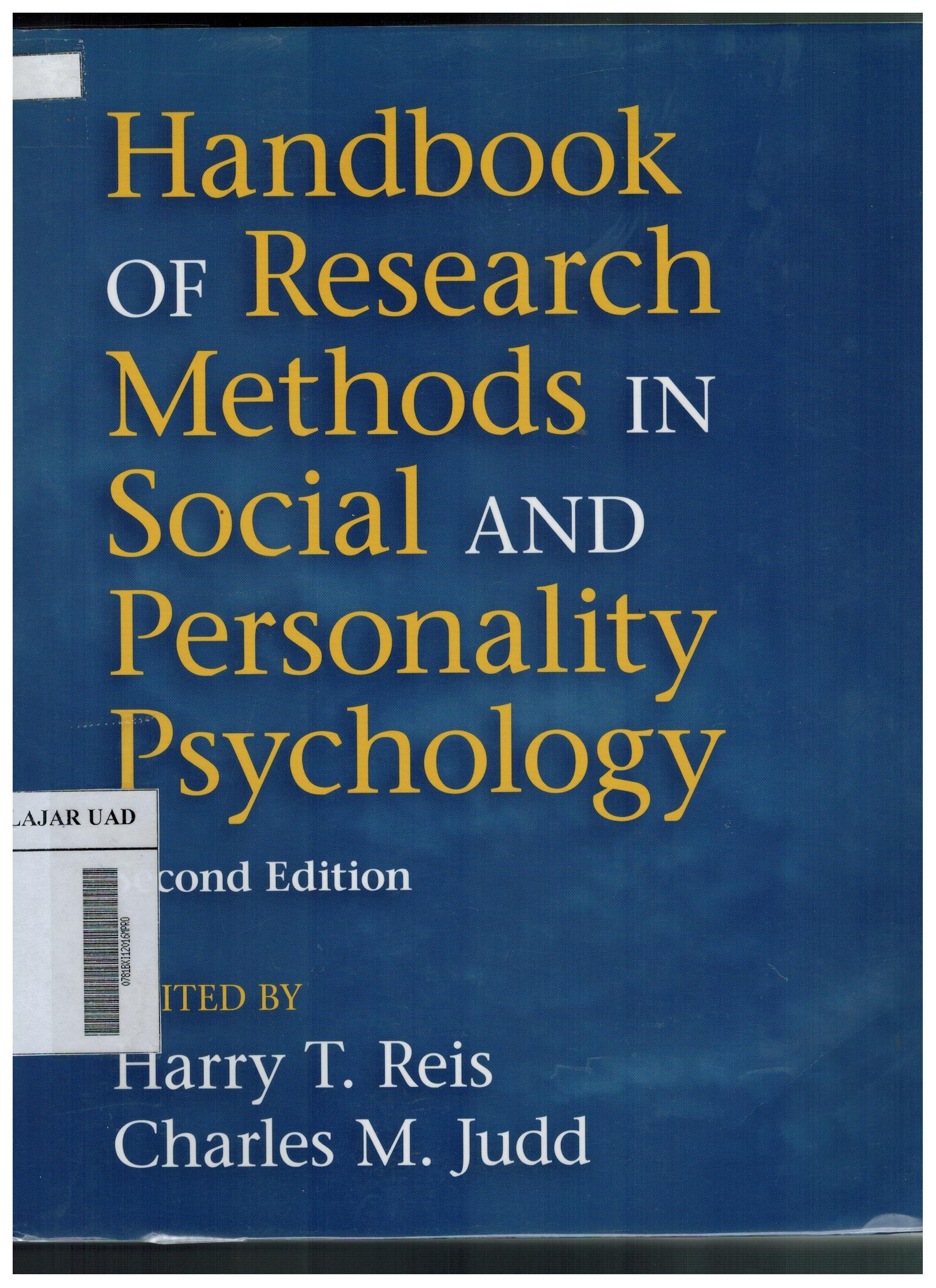 book on research methodology